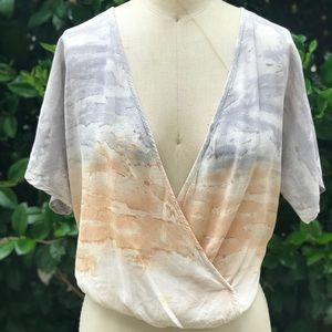 Hand made tie dye woven surplus